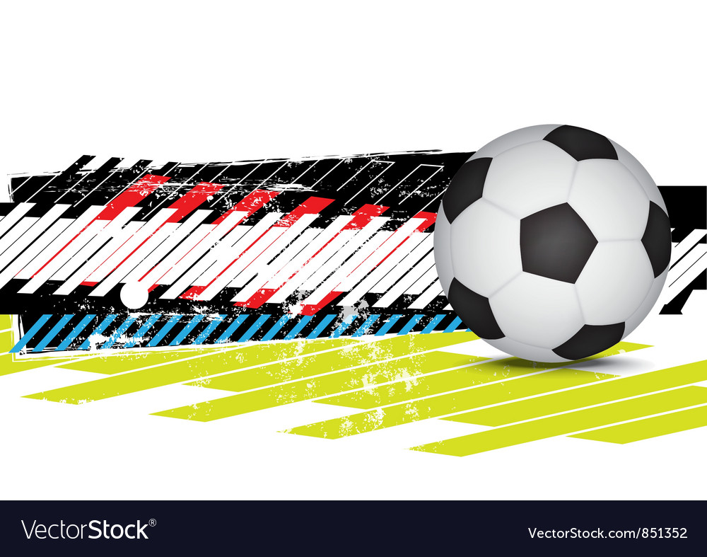 Soccer design background vector   Price: 1 Credit (USD $1)