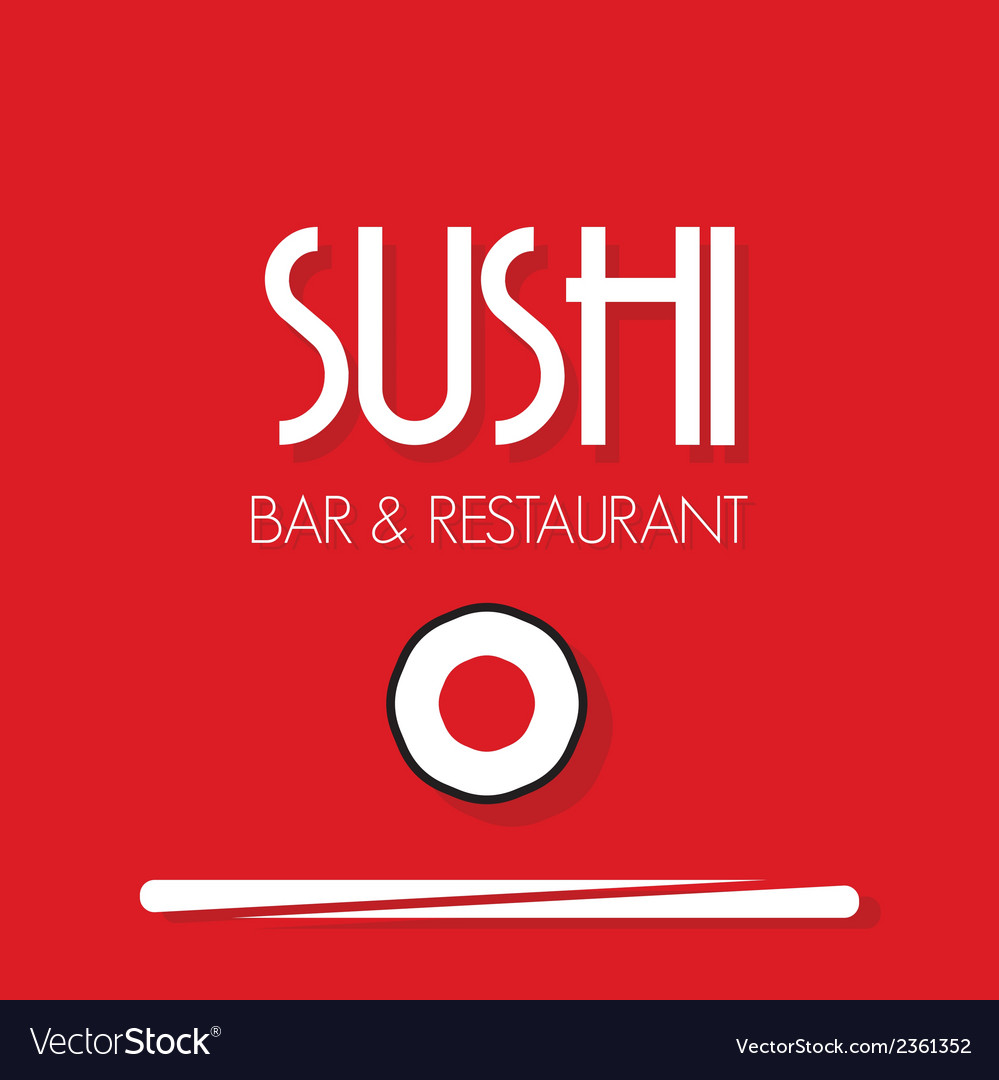Sushi menu1 vector | Price: 1 Credit (USD $1)
