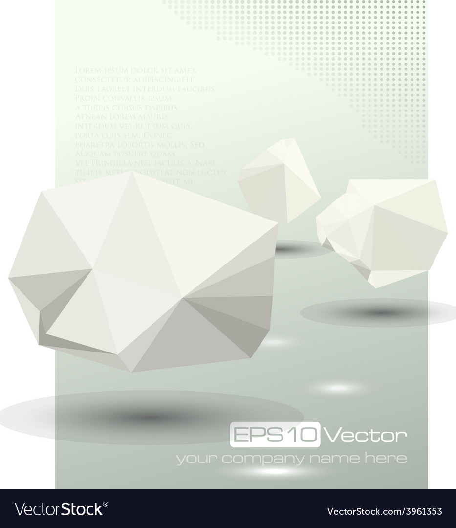 Abstract modern depth of field business design vector | Price: 1 Credit (USD $1)