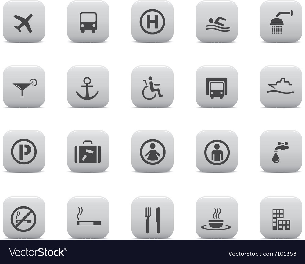 Pictogram set vector | Price: 1 Credit (USD $1)