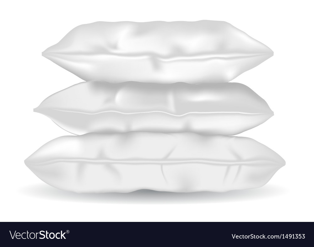 Soft pillows vector | Price: 1 Credit (USD $1)