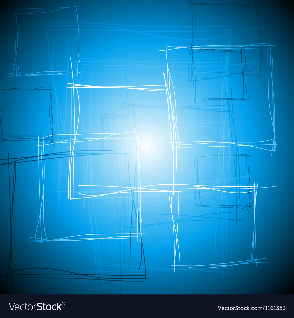 Vibrant blue square design vector | Price: 1 Credit (USD $1)