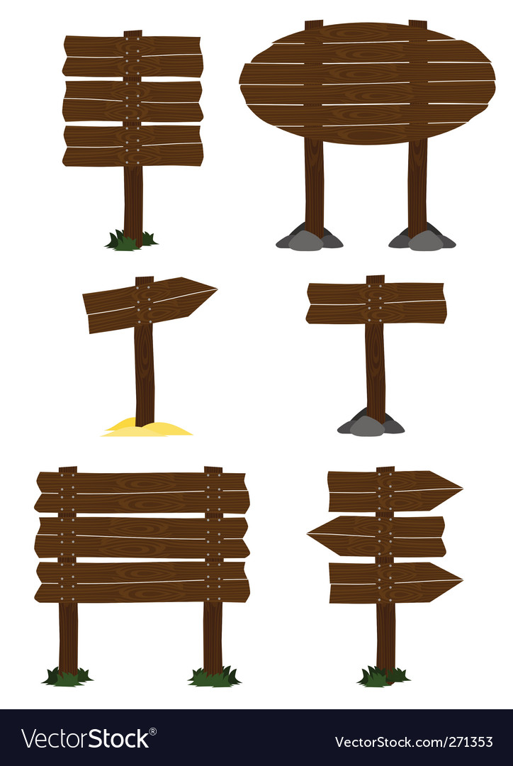 Wooden sign vector   Price: 1 Credit (USD $1)