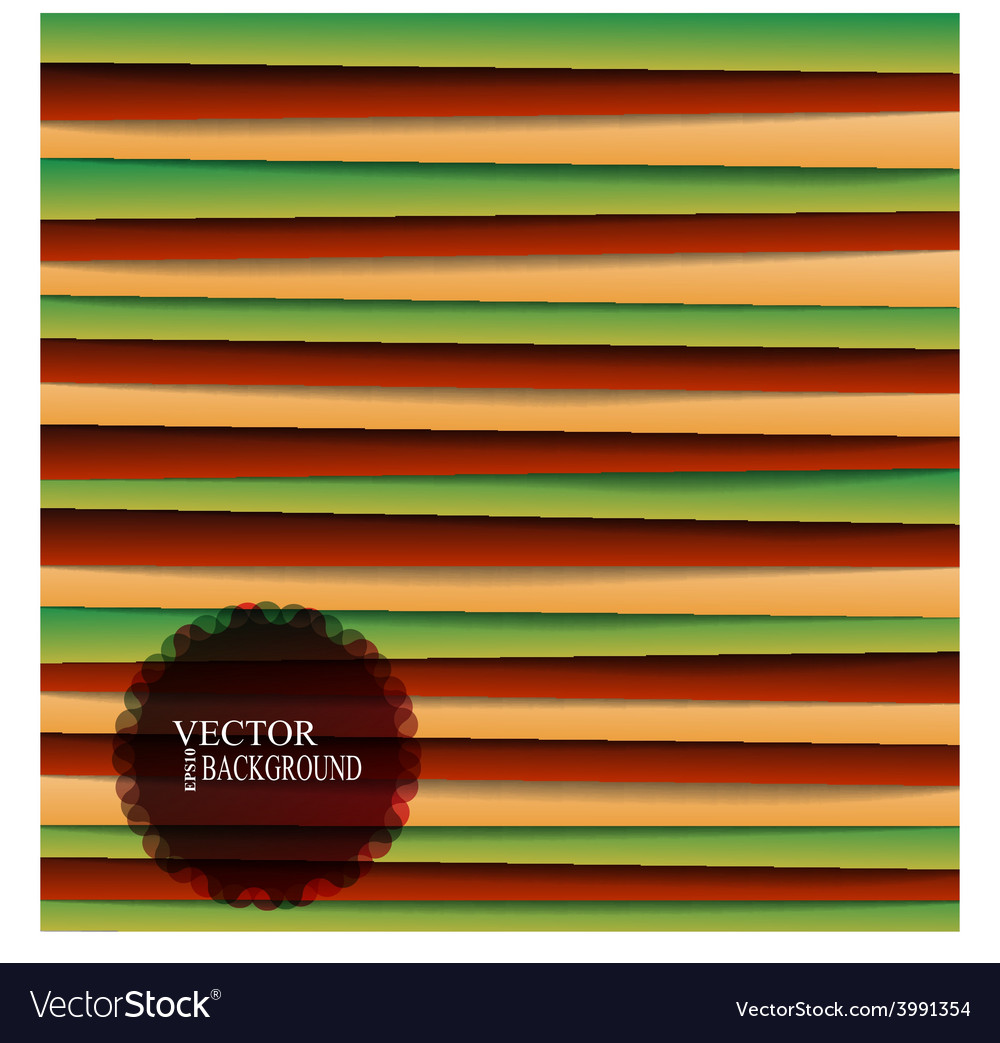 Colored paper lines background eps 10 vector | Price: 1 Credit (USD $1)