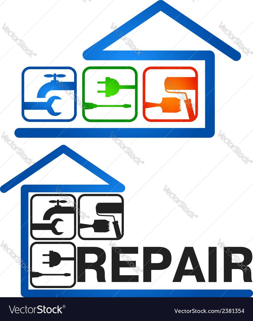 Home repair vector | Price: 1 Credit (USD $1)