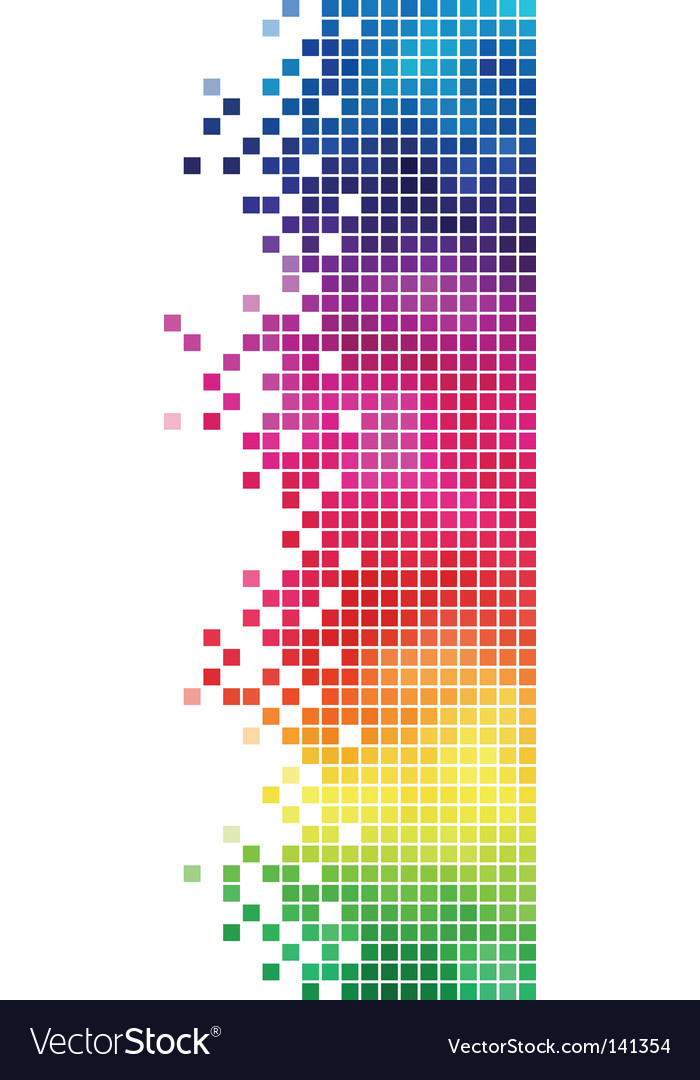 Mosaic side element vector | Price: 1 Credit (USD $1)