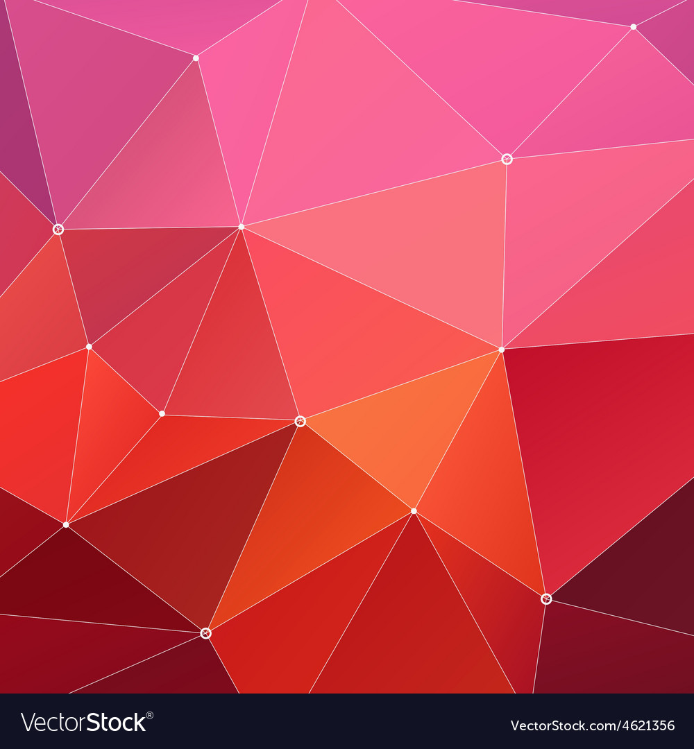 Abstract triangle geometrical red vector | Price: 1 Credit (USD $1)