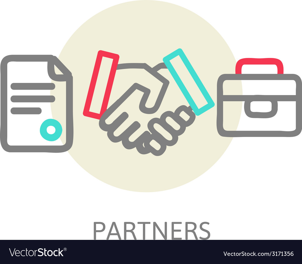 Business handshake vector | Price: 1 Credit (USD $1)