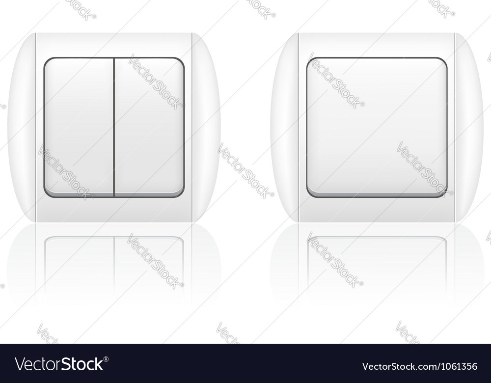 Electric light switch vector | Price: 1 Credit (USD $1)