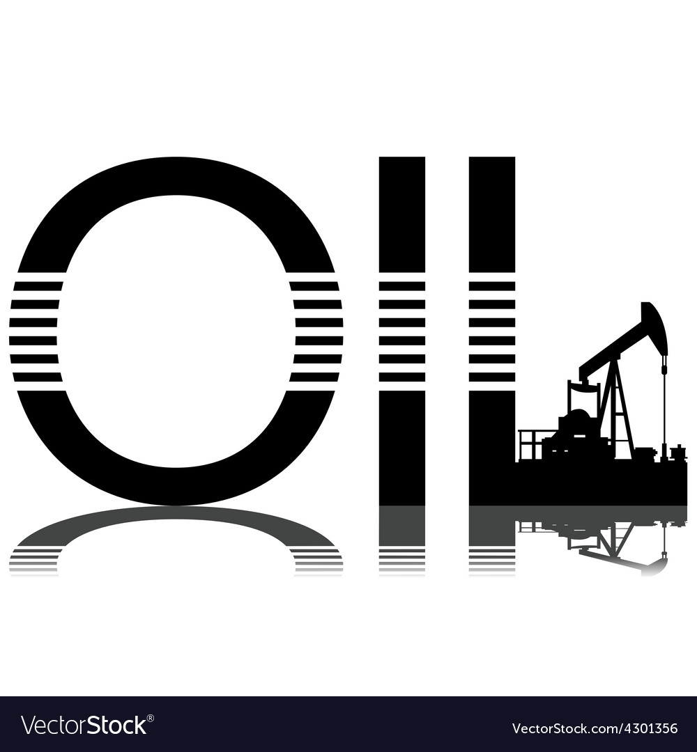 Production of oil vector | Price: 1 Credit (USD $1)