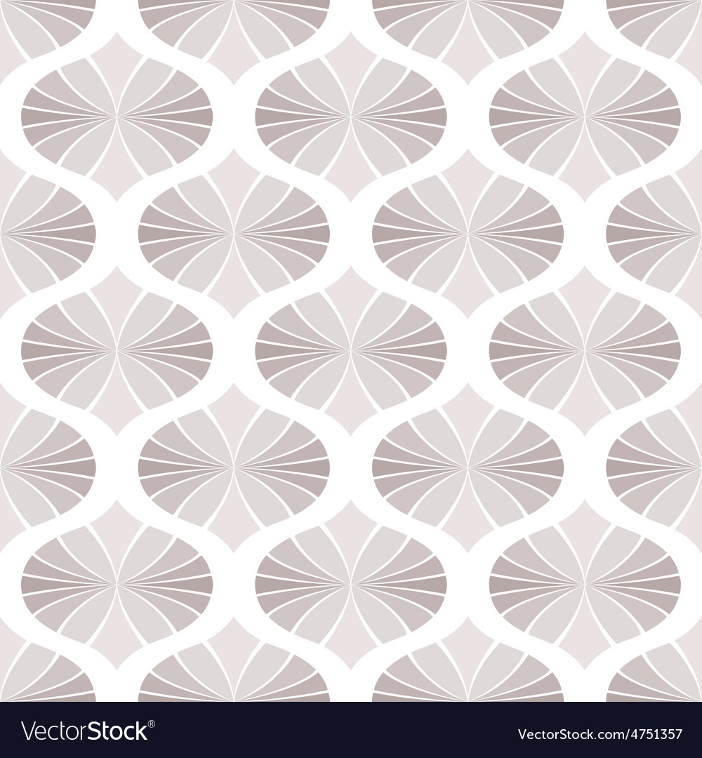 Floral pattern wallpapers in the style of baroque vector | Price: 1 Credit (USD $1)