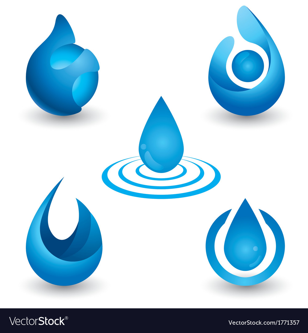 Water symbol vector | Price: 1 Credit (USD $1)