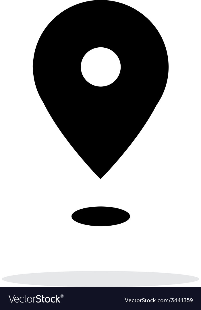 Point icon on white background vector | Price: 1 Credit (USD $1)