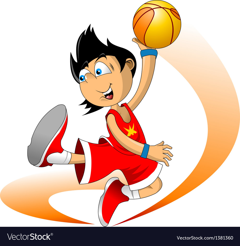 Basketballer vector | Price: 1 Credit (USD $1)