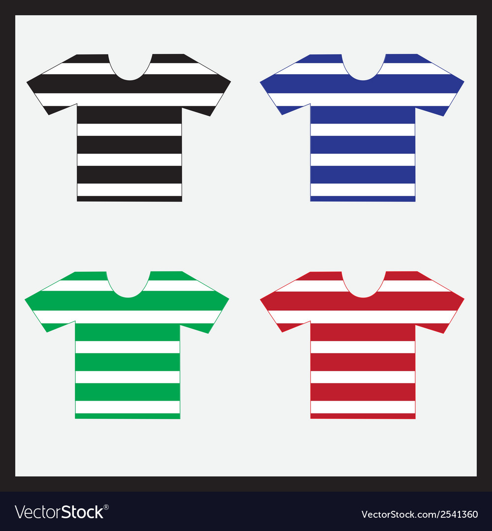 Color navy t-shirts collection eps10 vector | Price: 1 Credit (USD $1)