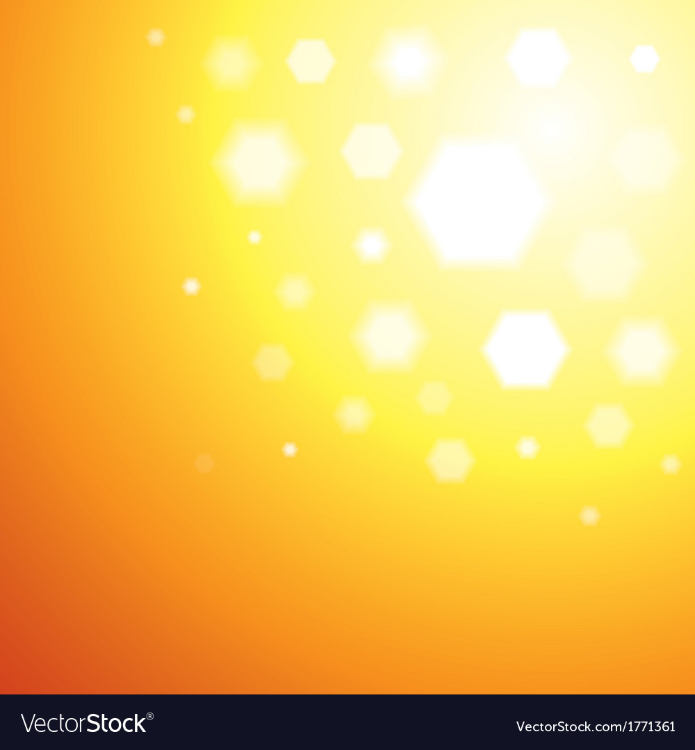 Abstract orange sun light background vector | Price: 1 Credit (USD $1)