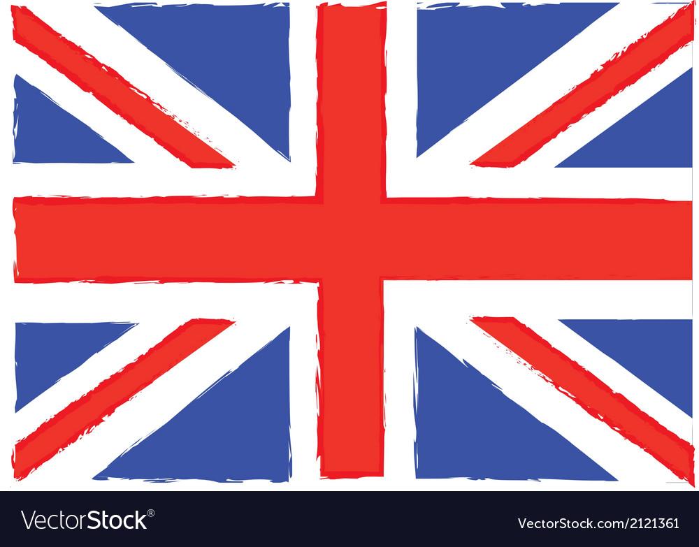 Flag london vector