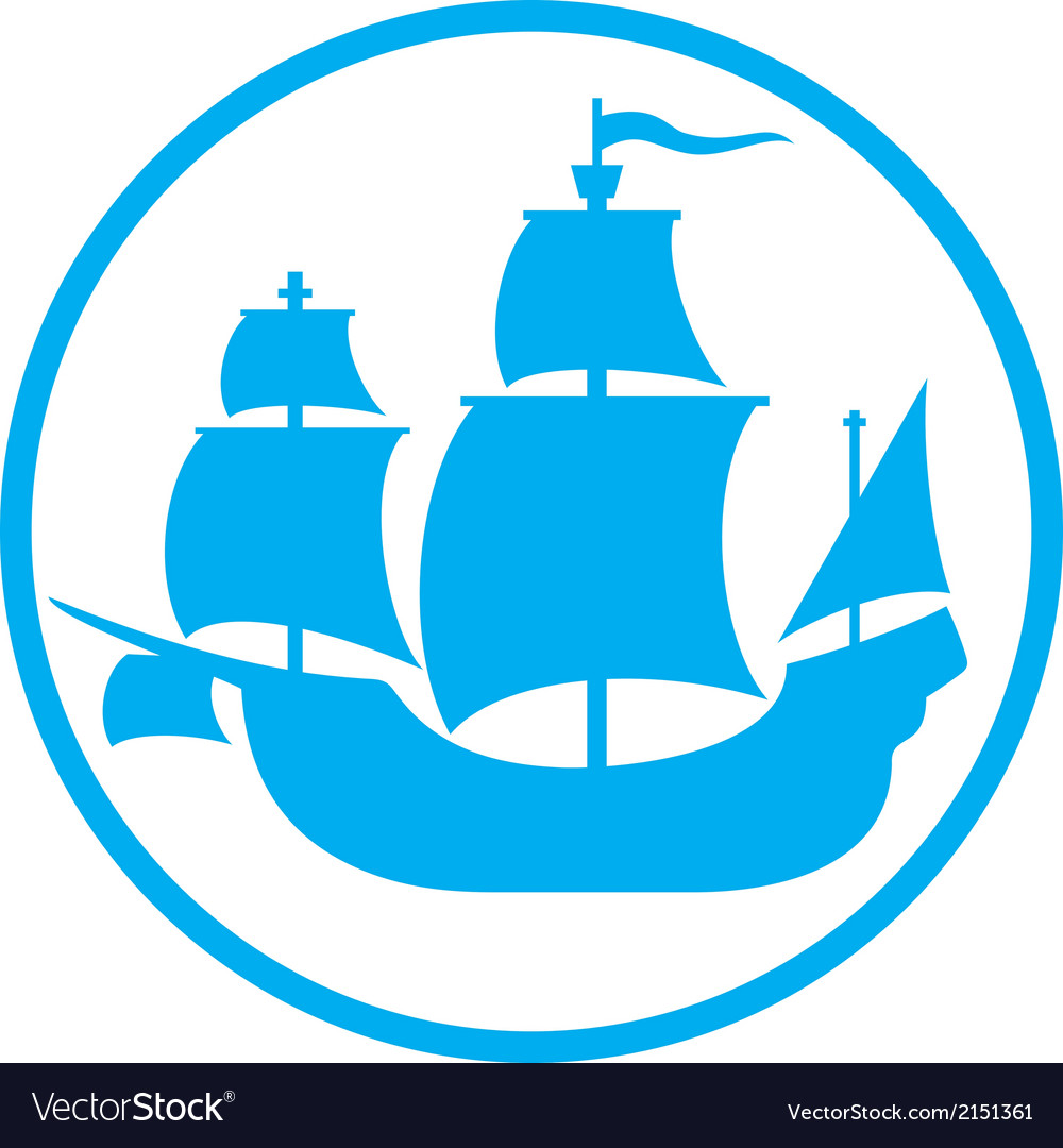 Old ship icon vector | Price: 1 Credit (USD $1)