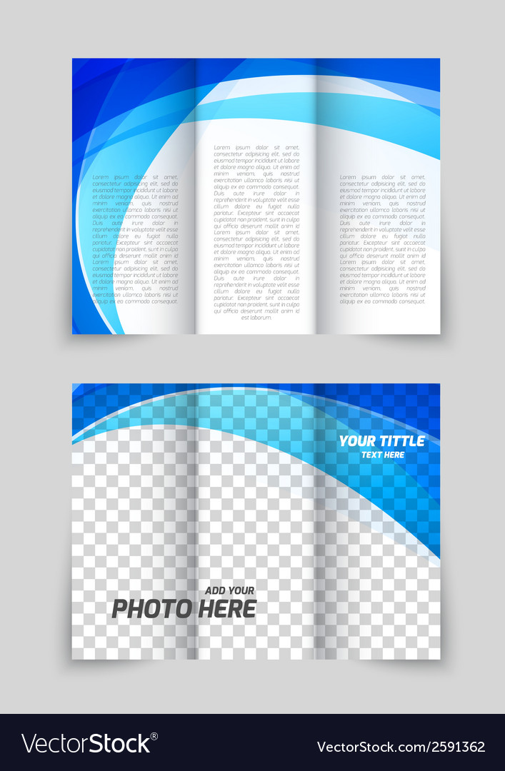 Abstract brochure vector | Price: 1 Credit (USD $1)