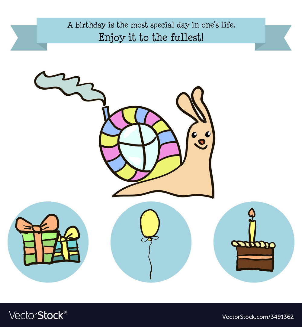 Congratulations birthday with a character vector | Price: 1 Credit (USD $1)
