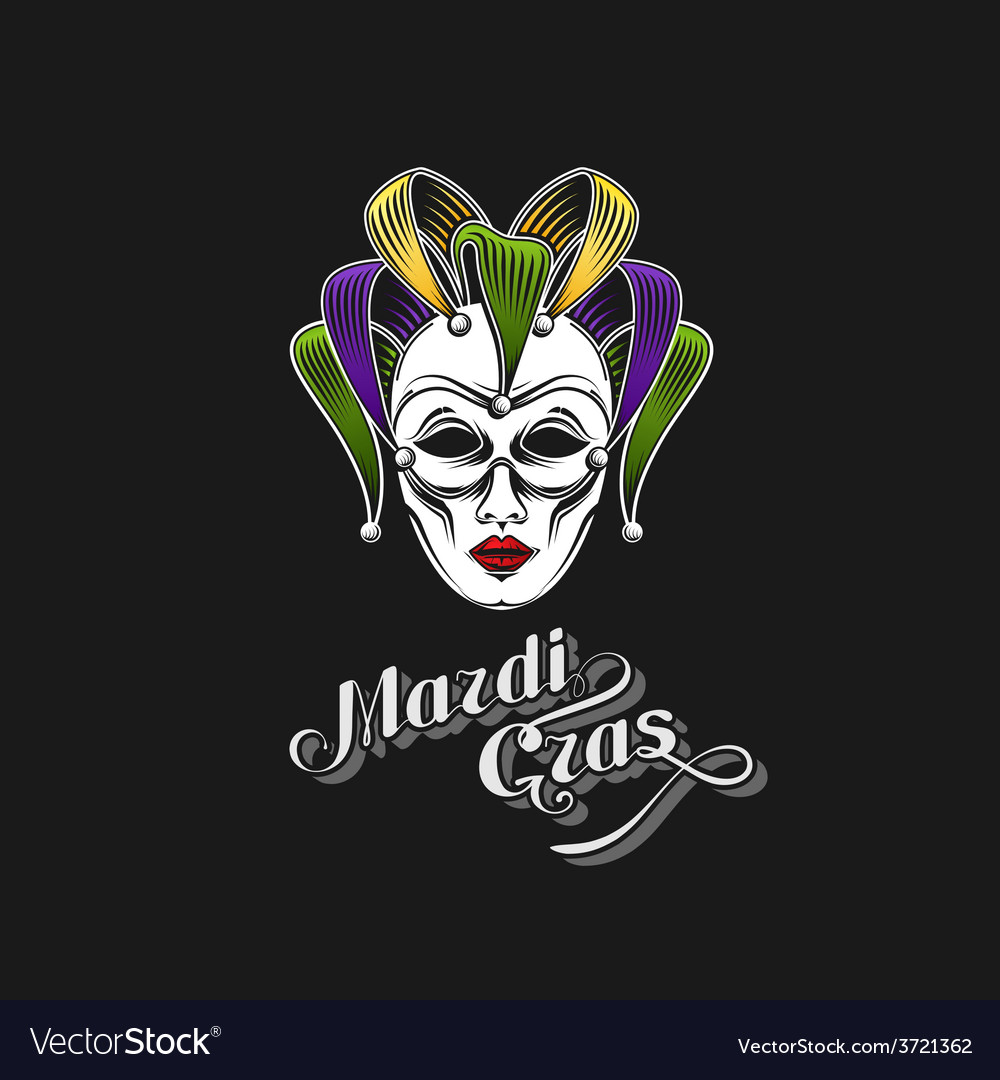 Mardi gras or shrove tuesday carnival mask vector | Price: 1 Credit (USD $1)