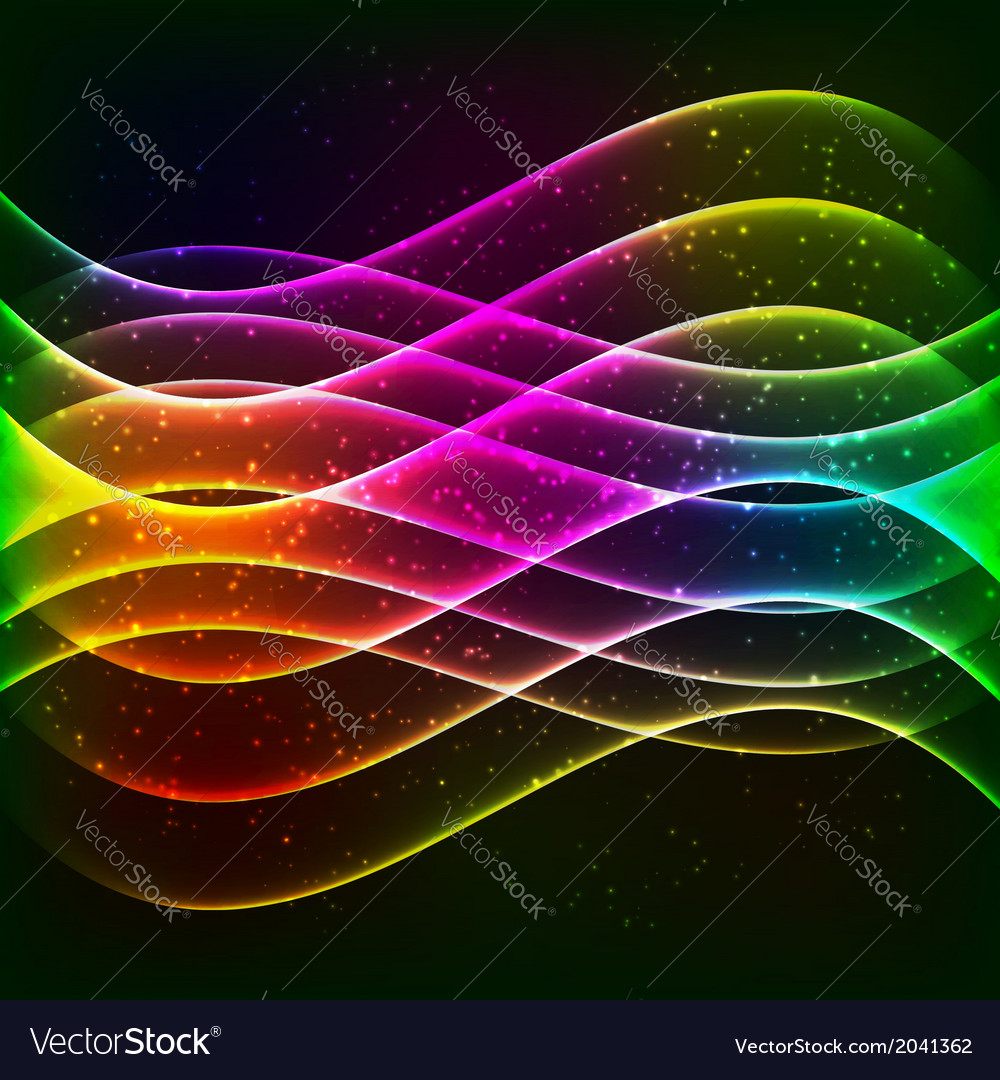 Neon equalizer wave vector | Price: 1 Credit (USD $1)