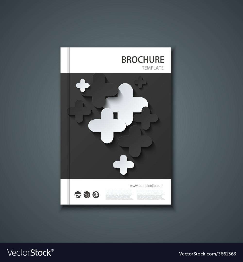 Flyer or banner brochure template vector | Price: 1 Credit (USD $1)