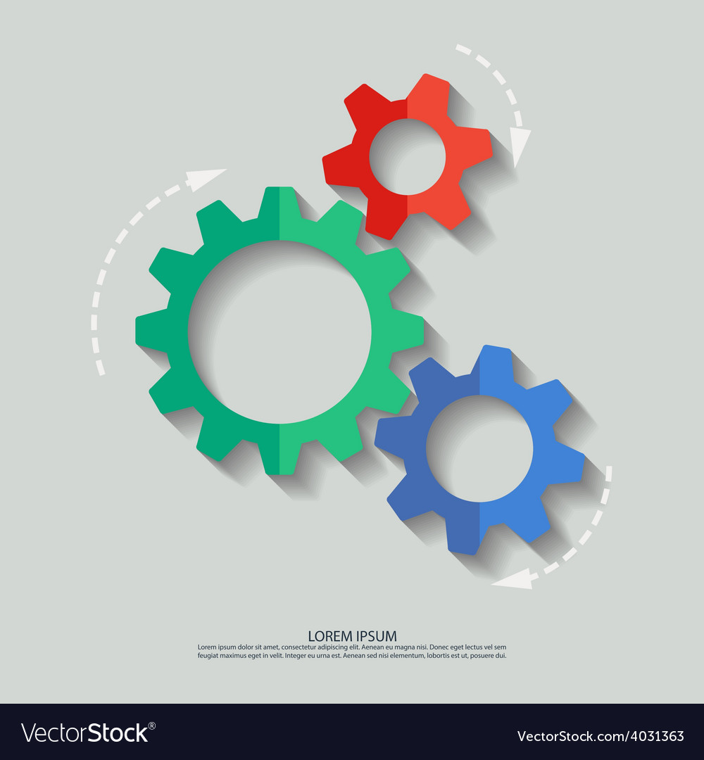 Mechanism flat vector | Price: 1 Credit (USD $1)