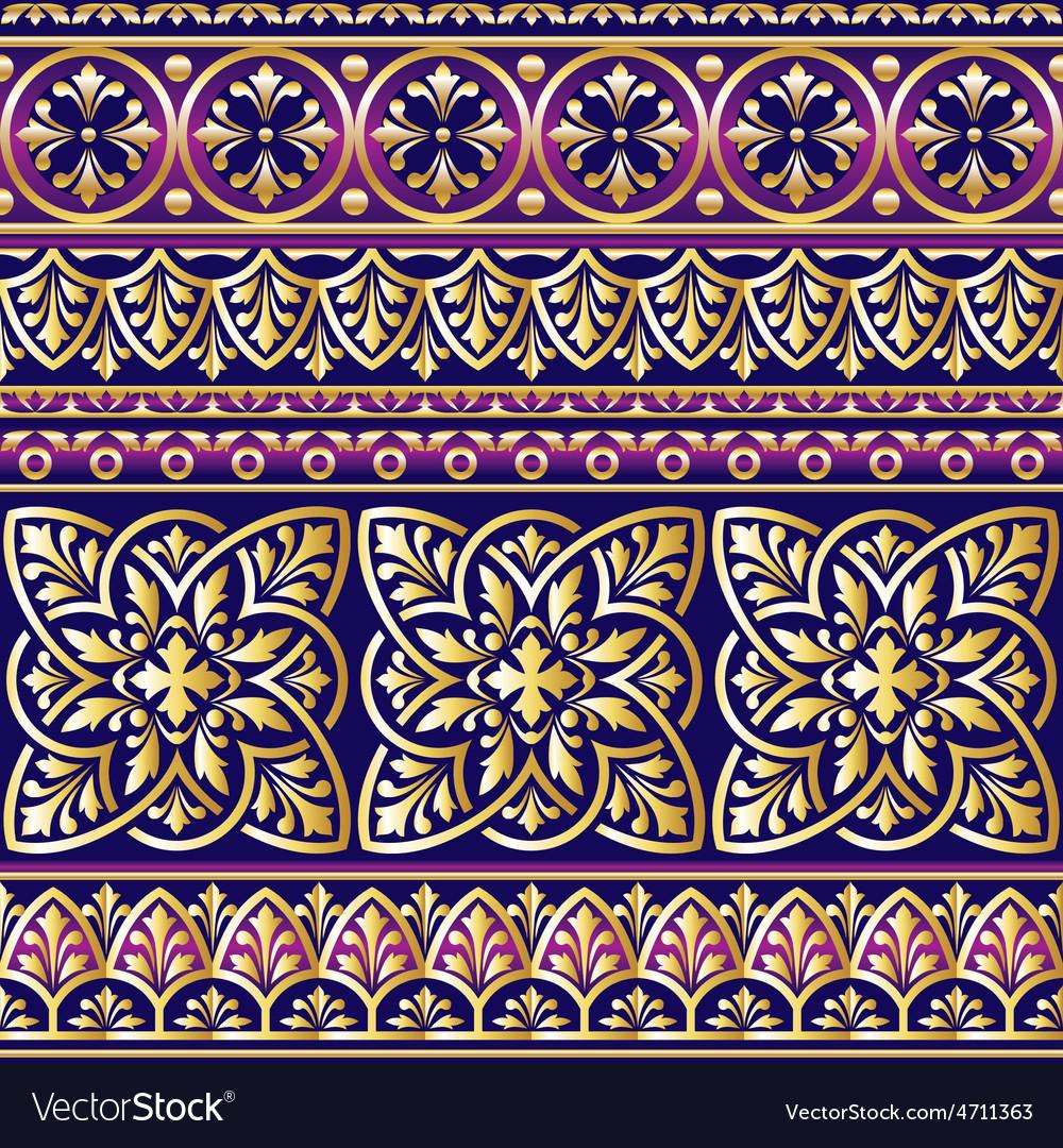 Ornament violet vector