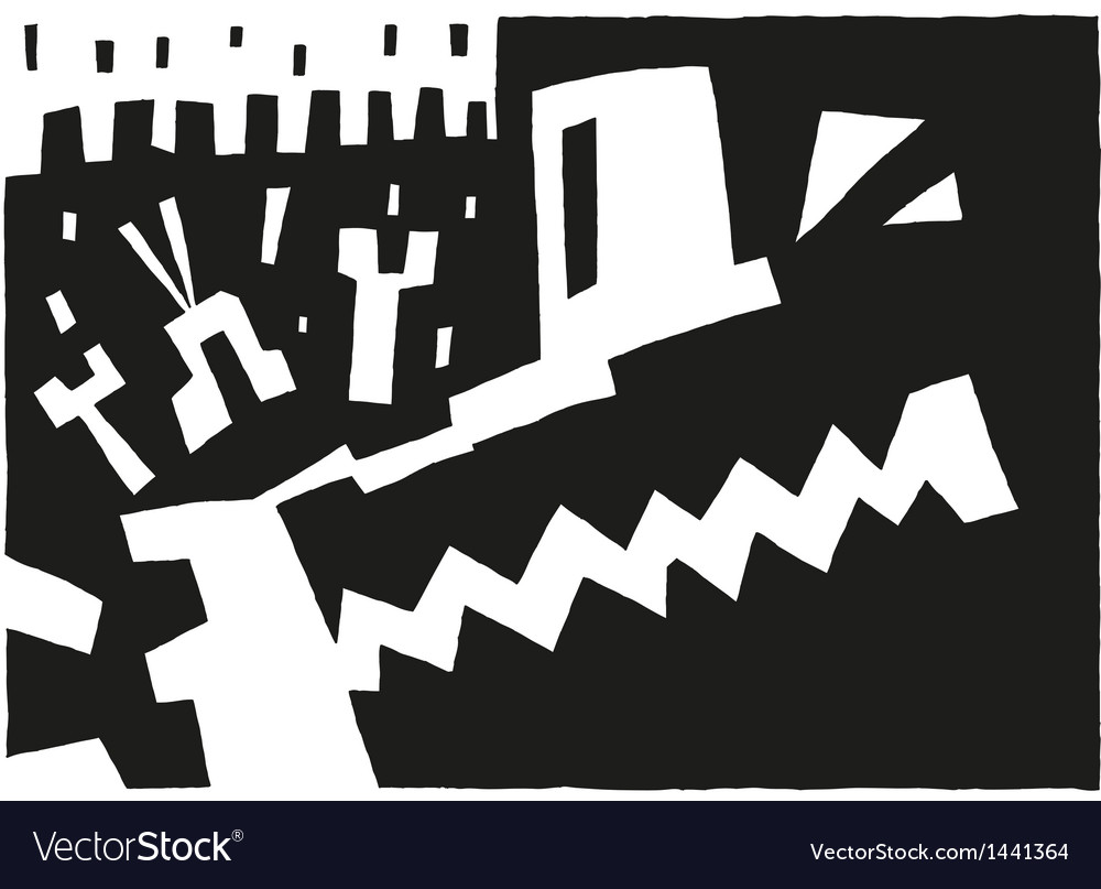 Aggression - abstract background vector | Price: 1 Credit (USD $1)