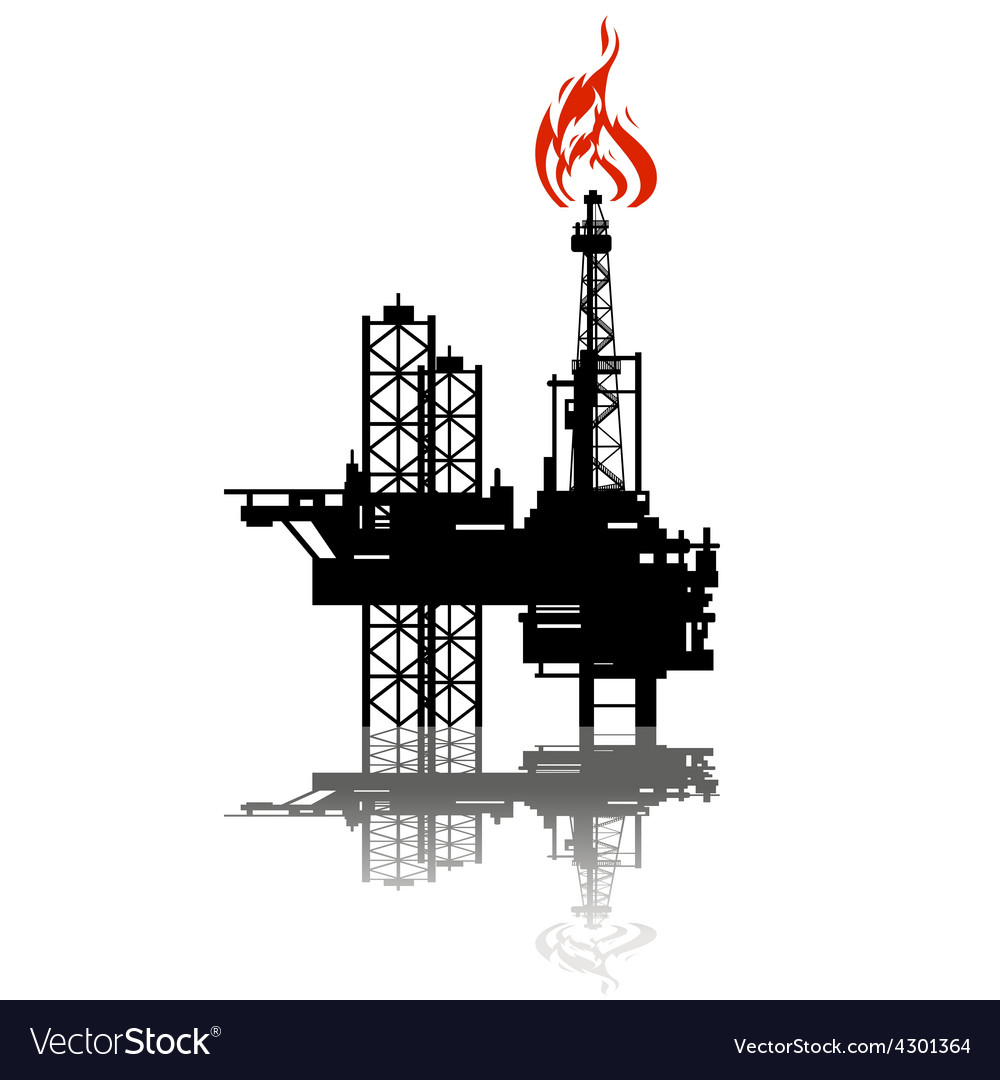 Extraction of oil vector | Price: 1 Credit (USD $1)