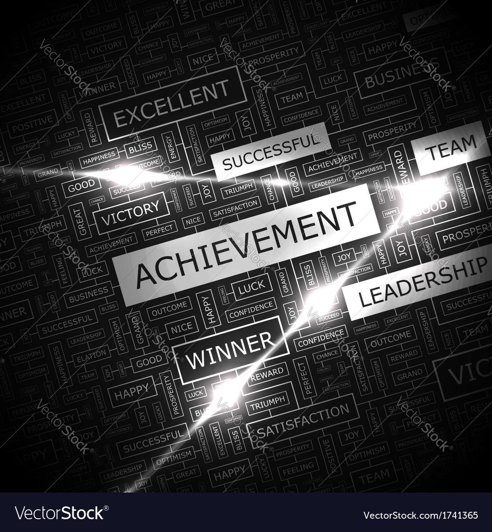 Achievement vector | Price: 1 Credit (USD $1)