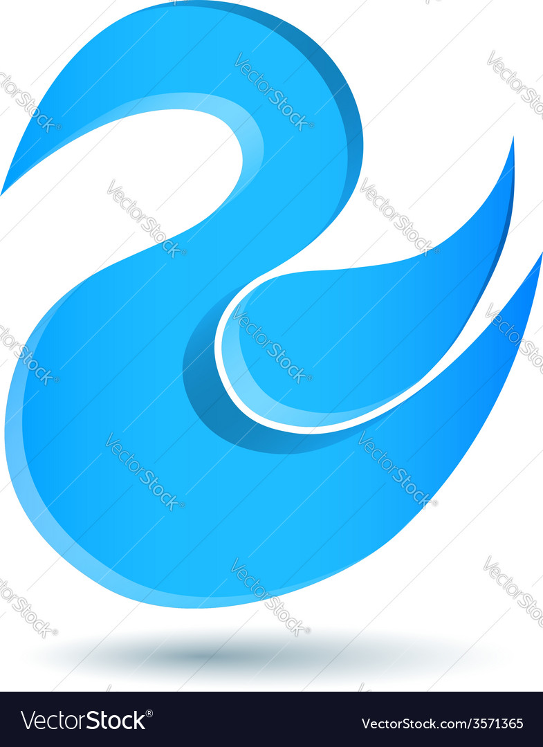 Blue twitter bird logo vector | Price: 1 Credit (USD $1)