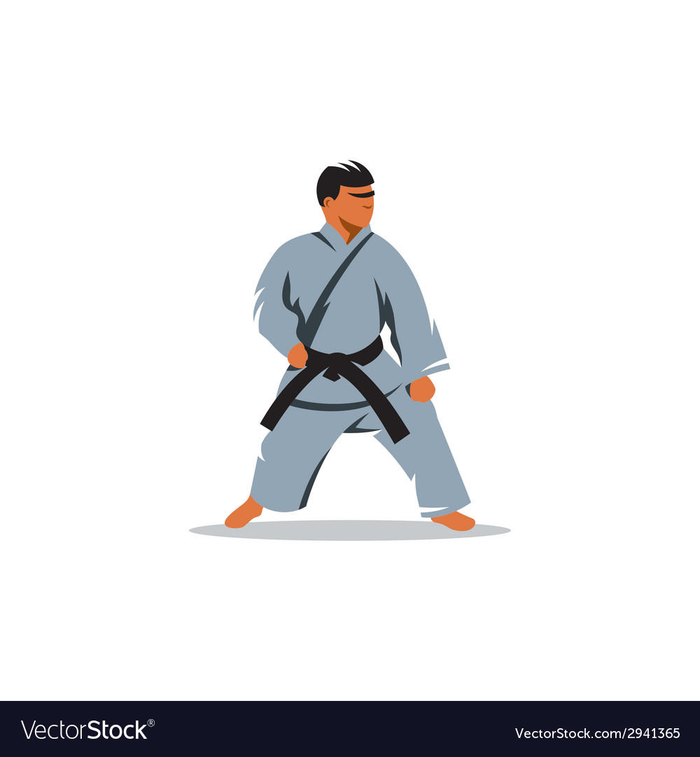 Karate sign vector | Price: 1 Credit (USD $1)