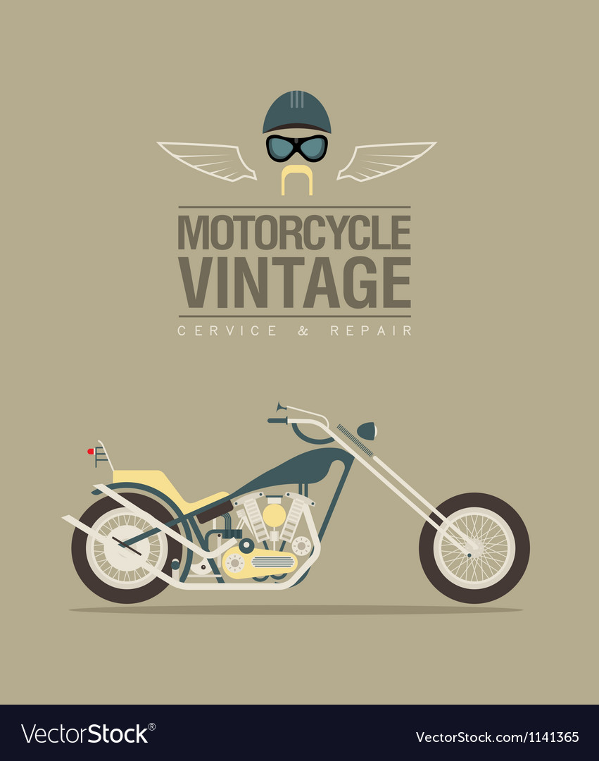 Vintage bike vector | Price: 1 Credit (USD $1)