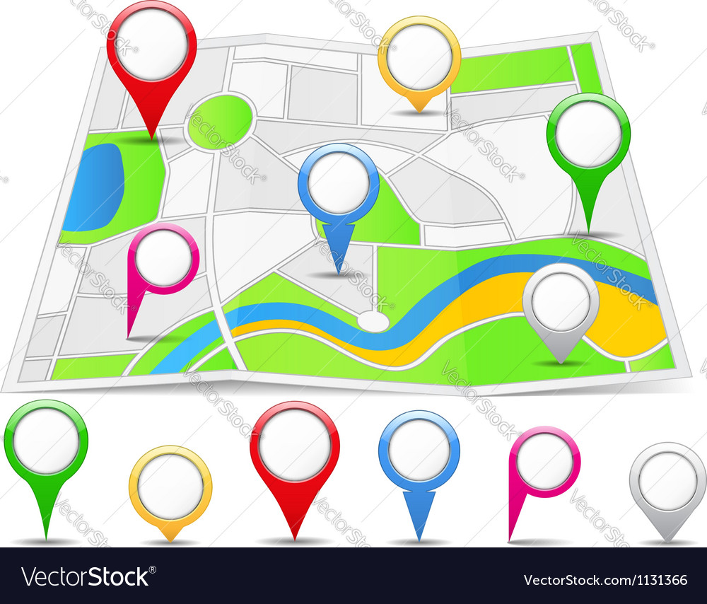 Abstract map vector | Price: 1 Credit (USD $1)