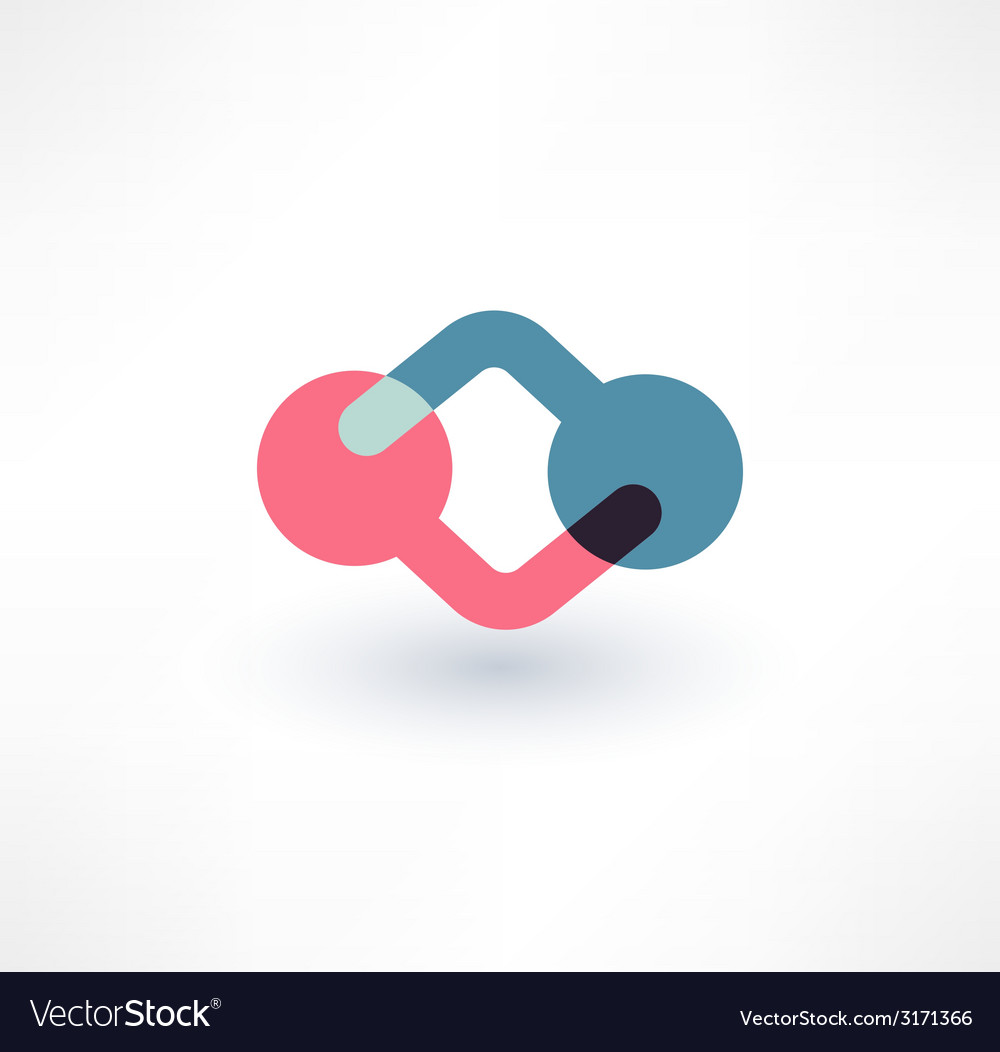 Cooperation icon logo design vector | Price: 1 Credit (USD $1)
