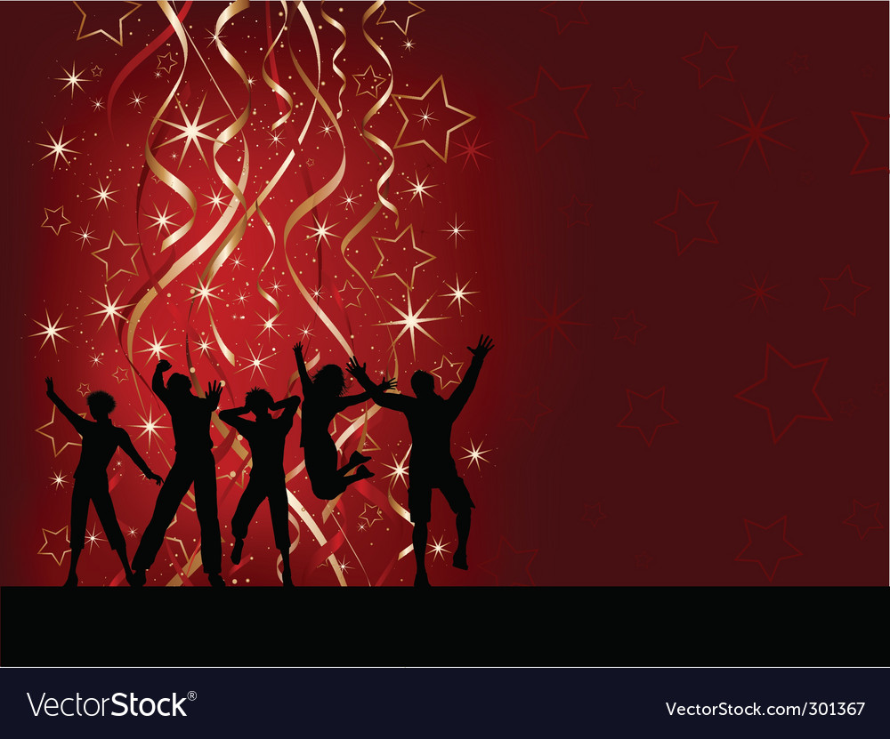 Christmas party vector | Price: 1 Credit (USD $1)