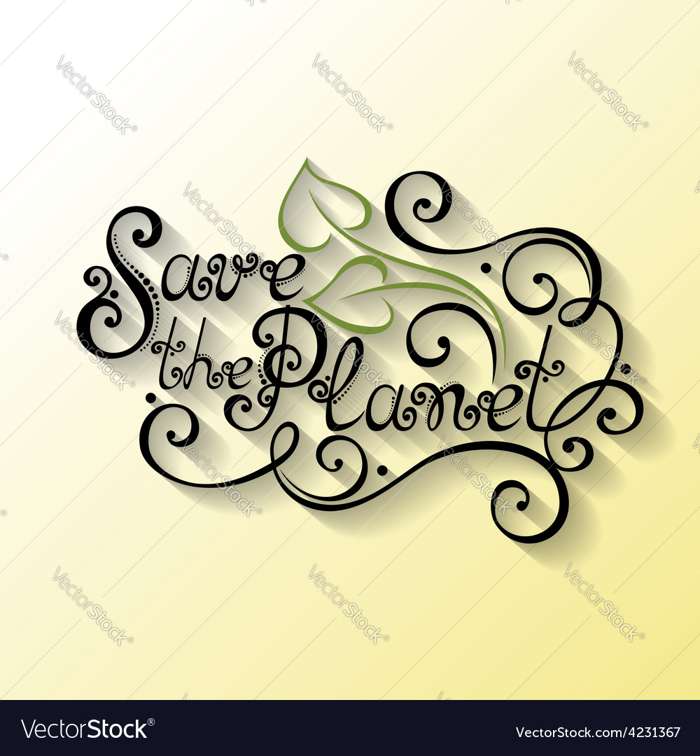 Holidays lettering vector | Price: 1 Credit (USD $1)