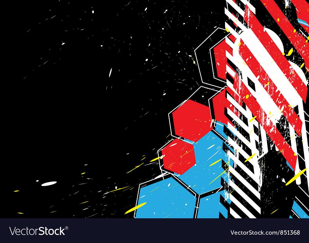 Grunge design background vector | Price: 1 Credit (USD $1)