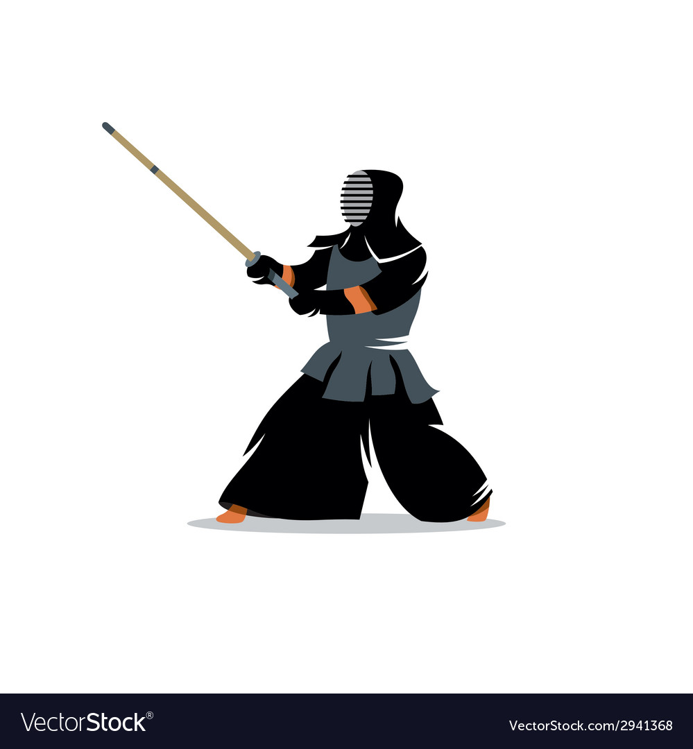 Kendo sign vector | Price: 1 Credit (USD $1)
