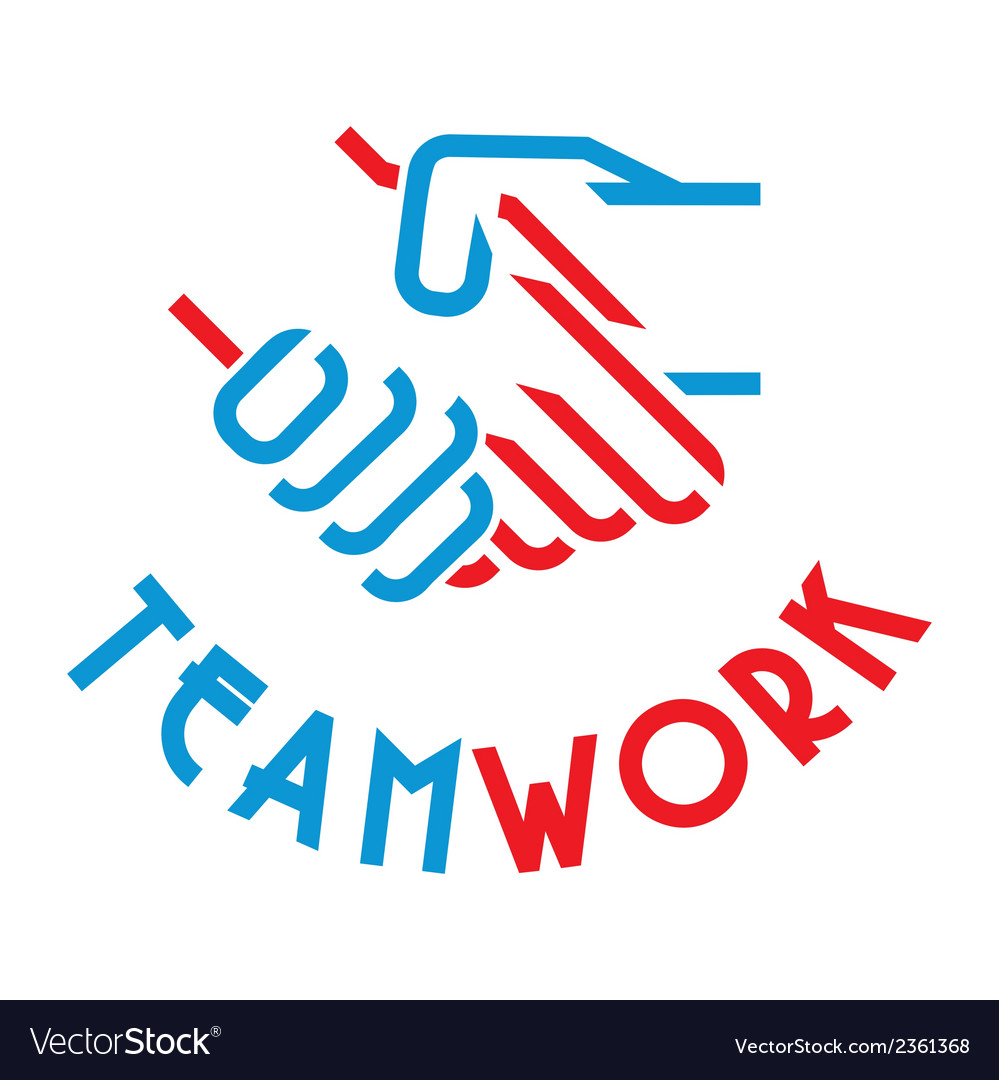 Team work3 vector | Price: 1 Credit (USD $1)