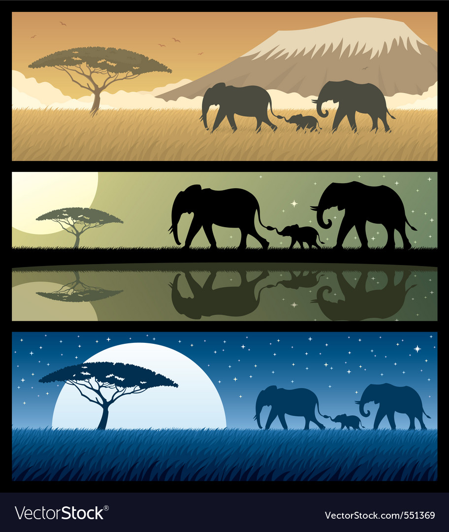 Africa landscapes 2 vector   Price: 3 Credit (USD $3)