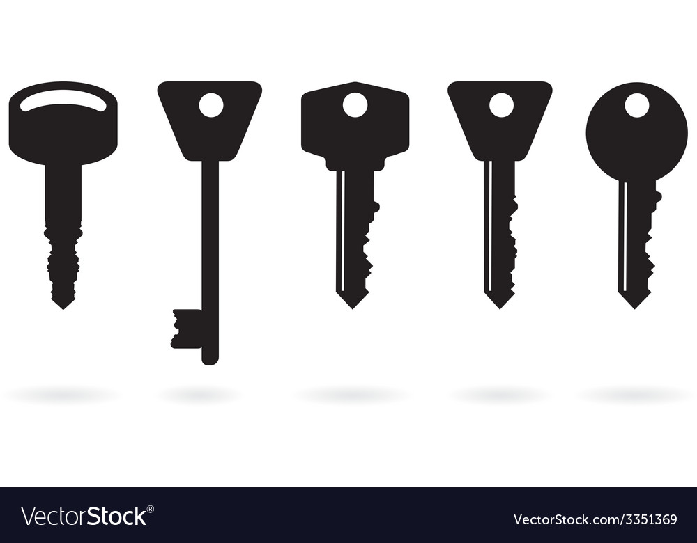 Key set vector | Price: 1 Credit (USD $1)