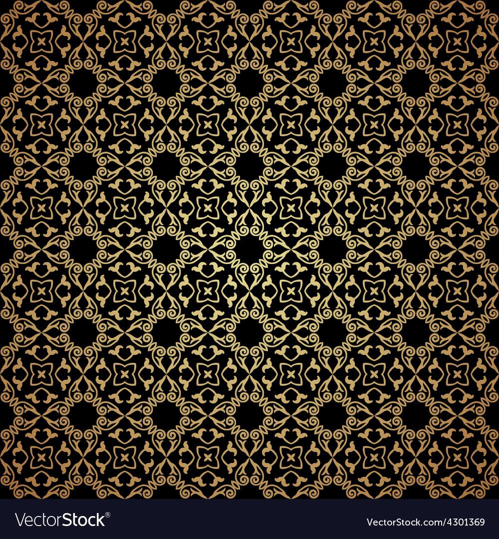 Luxury damask seamless motif vector | Price: 1 Credit (USD $1)