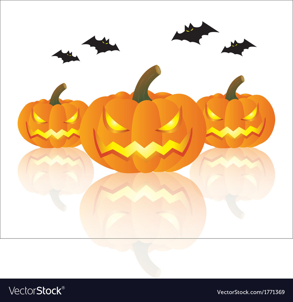 Pumpkin halloween vector | Price: 1 Credit (USD $1)
