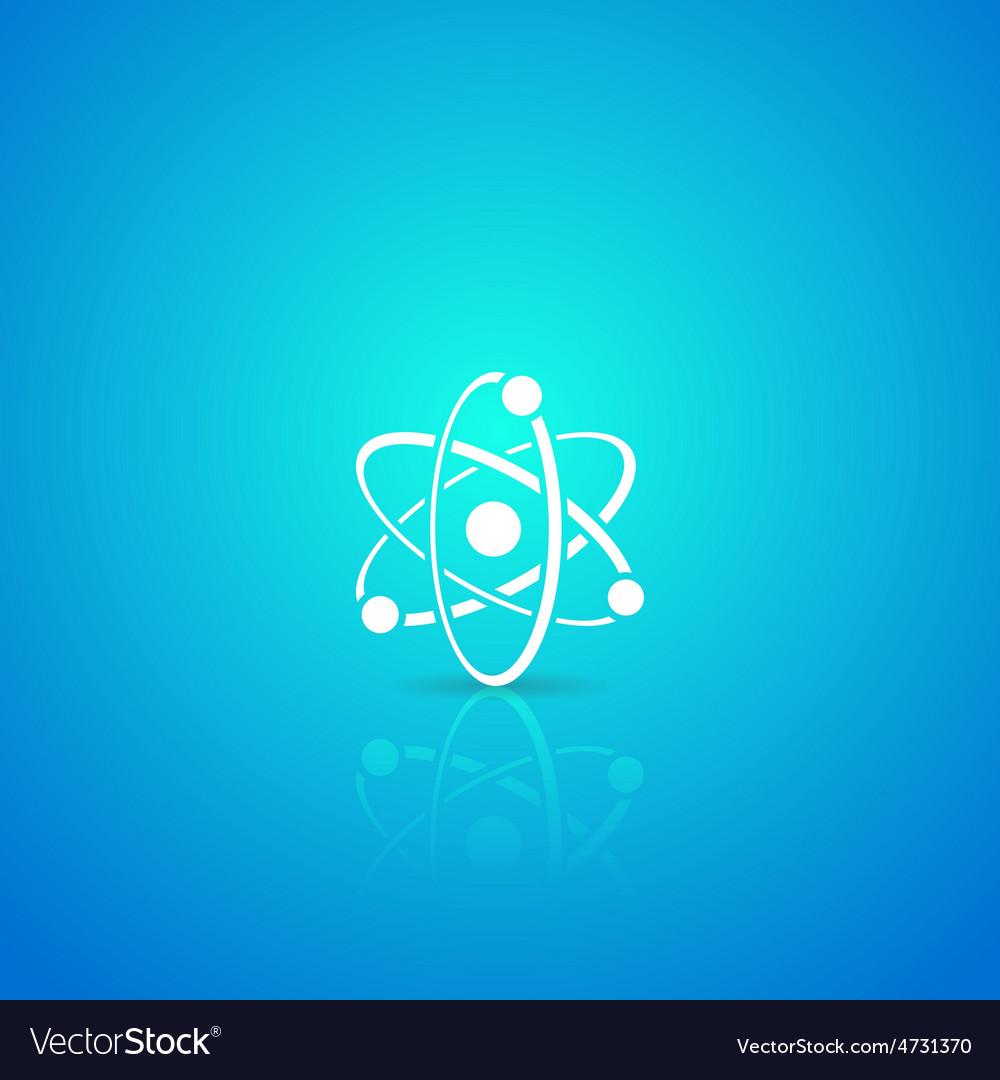 Atom icon vector | Price: 1 Credit (USD $1)