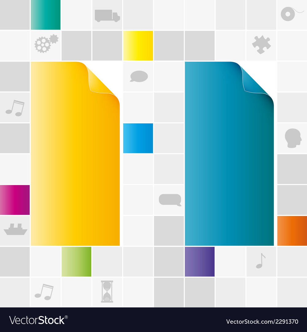 Field of gray and color squares vector | Price: 1 Credit (USD $1)