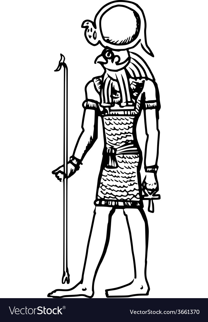 God of ancient egypt vector   Price: 1 Credit (USD $1)