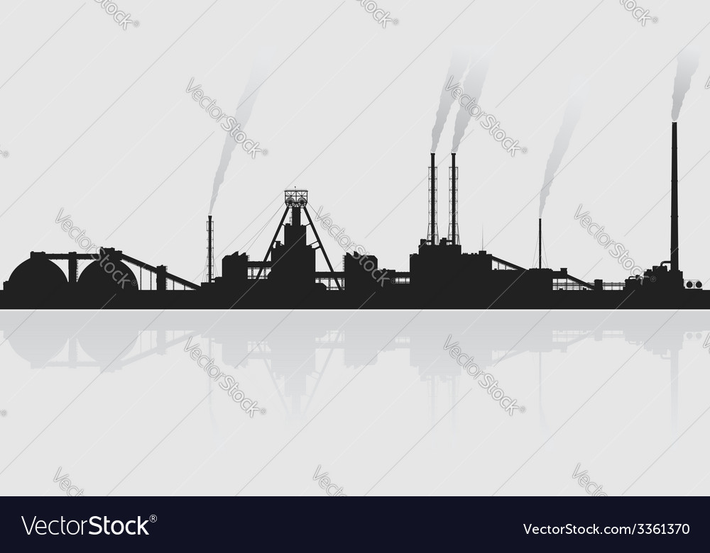 Mineral fertilizers plant over grey background vector | Price: 1 Credit (USD $1)